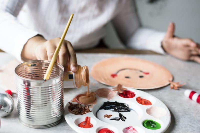 pintar niños imagenes manualidades
