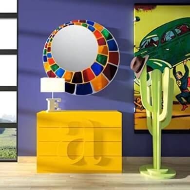 Espejos decoracion interiores salones banos comedores dormitorios hoteles locales comerciales