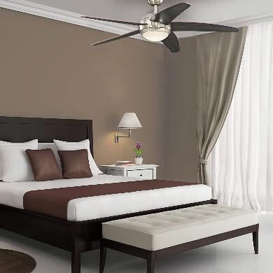 ventiladosr de techo con luz