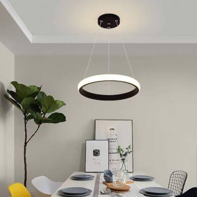 lámpara led colgante techo minimalista moda tendencia modelo exclusivo novedades ofertas rebajas